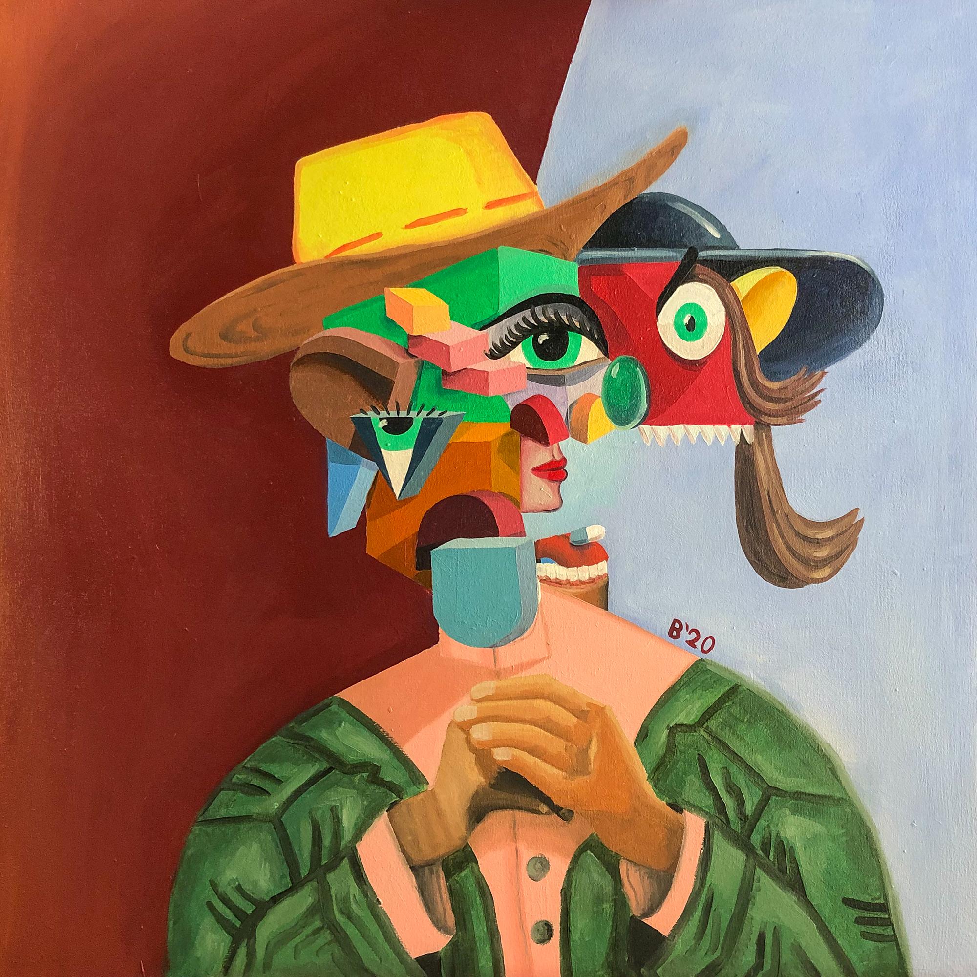 Figuren mit Hut