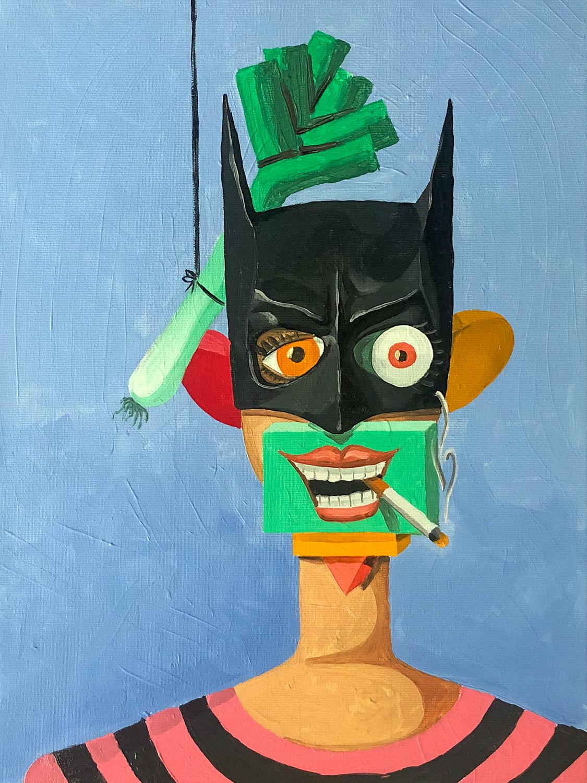 Batfrau und Lauch