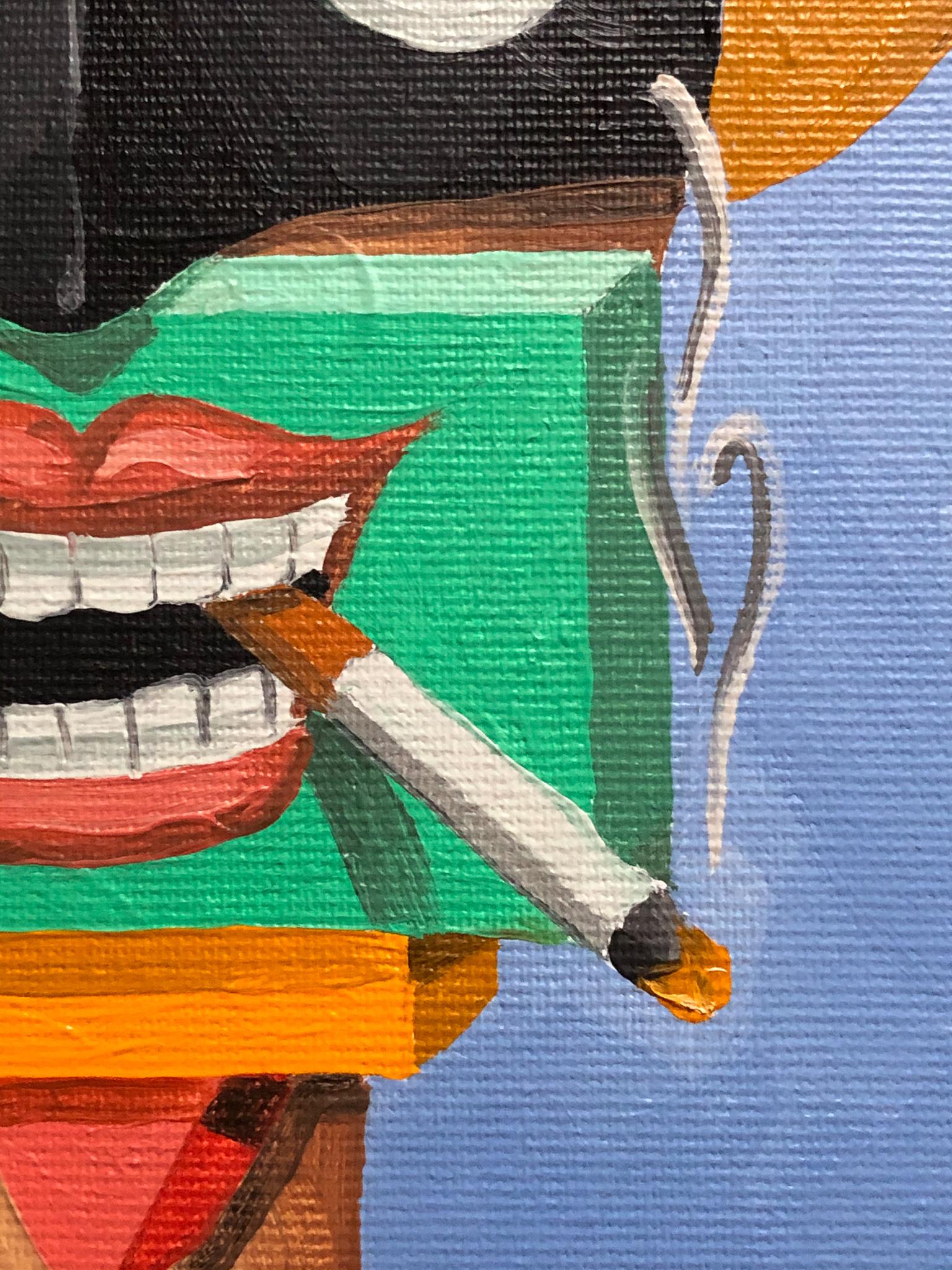 Batfrau und Lauch Detail 01
